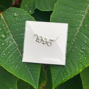 "NEW!! 💚 Birth Year Necklace ""1996"""